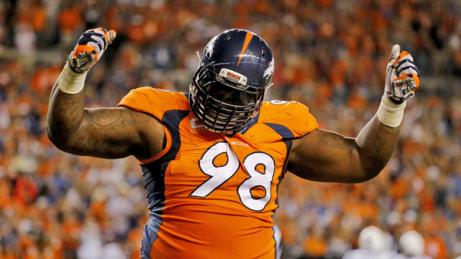 Knighton takes on bigger role in Denver this season