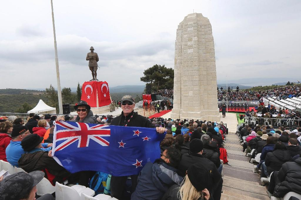 Reconciliation spirit heals pain on Gallipoli's sands