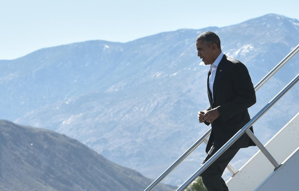 Obama hosts South East Asian leaders at desert retreat