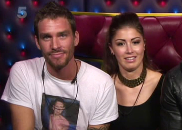 Big Brother 2011's lovebirds Faye and Aaron haved filmed a spin-off