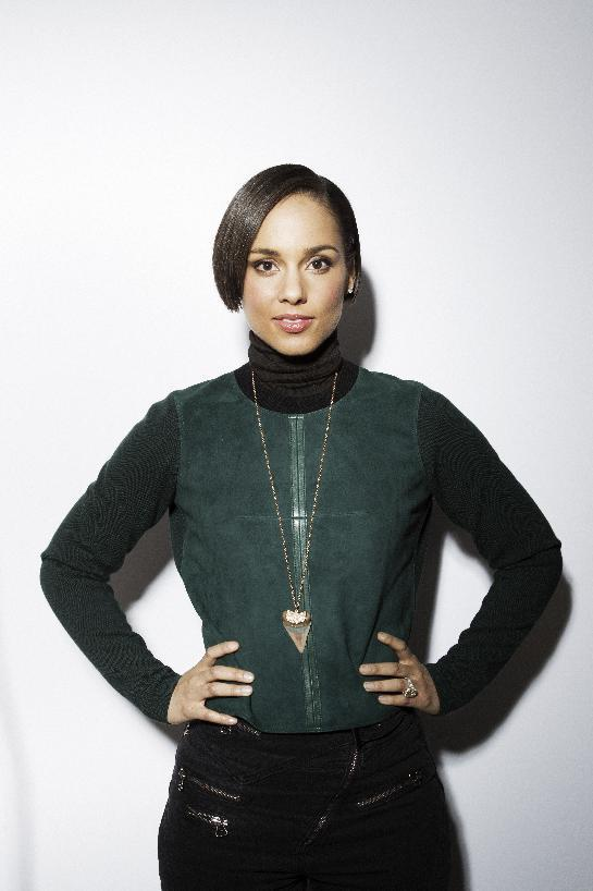 Alicia Keys poses for a portrait during the Sundance Film Festival on Friday, Jan. 18, 2013, in Park City, Utah. (Photo by Victorial Will/Invision/AP)