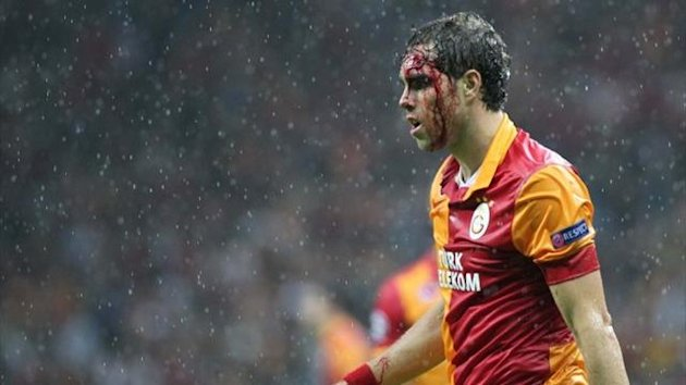 Elmander Galatasaray Cluj