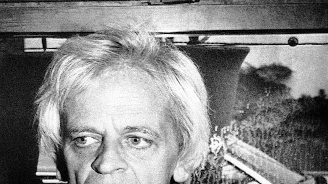 "FILE - In this Oct. 22 1979 black and white file picture  German actor Klaus Kinski, who then was  going to play Count Dracula in the film ""Nosferatu The Vampyre"", wears a T-Shirt with a Nosferatu logo during an interview in Los Angeles, United States. The eldest daughter of Klaus Kinski claims that the late German actor sexually abused her as a child.   Pola Kinski told Germany's Stern magazine in an interview published Thursda Jan. 10, 2013  that her father started molesting her when she was five and repeatedly raped her up to age 19.  Her claim is detailed in an autobiography due to be published in German next week. Klaus Kinski died in 1991.  (AP Photo/Thanh My Huynh,File)"