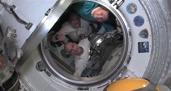 Space Station Astronauts Return to Earth Aboard Soyuz Capsule