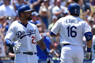 Matt Kemp (left) has helped factor in the Dodgers' turnaround. (Getty Images)
