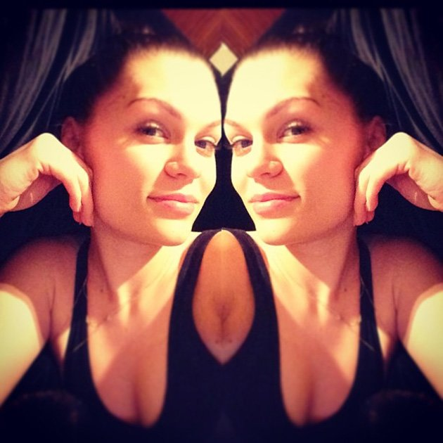 Celebrity Twitpics: Jessie J treated her followers to a picture of her enjoying some downtime – and without a scrap of makeup. We think she looks even more stunning fresh-faced. Copyright [Jessie J]
