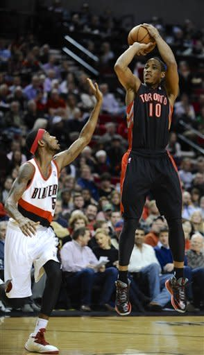 Aldridge powers Blazers past Raptors 92-74