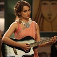 Kangana Ranaut Learns Guitar From Pritam For 'I Love New Year' Role