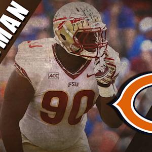 Chicago Bears' Eddie Goldman NFL Draft Highlight Reel