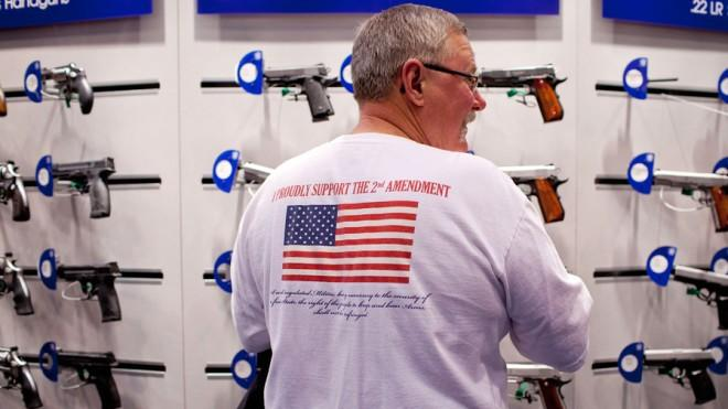 A new U.N. gun control treaty somehow fails to mention the Second Amendment.