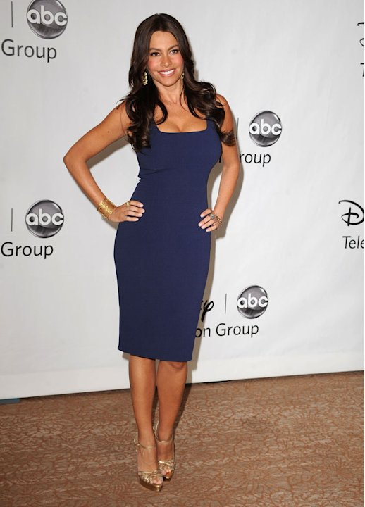 """Modern Family's"" Sofia Vergara arrives at NBC Universal's 2010 TCA Summer Party on July 30, 2010 in Beverly Hills, California."