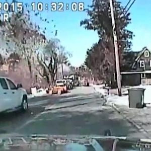 Dashboard Camera Captures New Jersey Gas Explosion