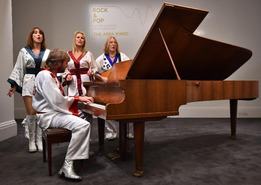 Mamma Mia! ABBA's piano up for auction