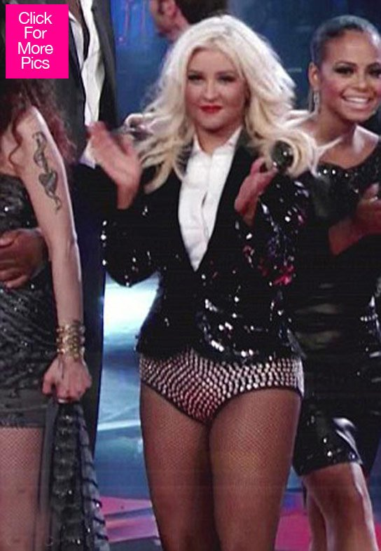 Christina Aguilera 'The Voice' Outfits — Pics
