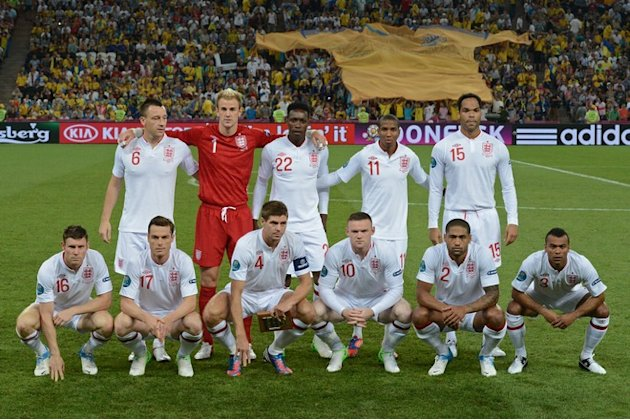 (From L) England's Team, Defender&nbsp;&hellip;