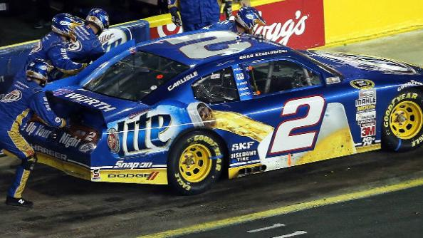 Aggressive Keselowski hits first bump in road