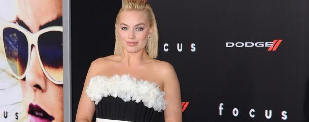 Margot Robbie's beautiful sheer dress
