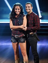 Bristol Palin and Mark Ballas pose during Week 2 of &#39;Dancing with the Stars: All-Stars,&#39; Oct. 1, 2012 -- ABC