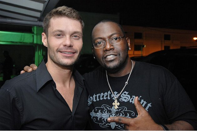 Ryan Seacrest &amp; Randy Jackson at Mokai October 2, 2007 in Miami Beach, Florida. 