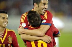 Pedro peeved by Spain's stubborn opposition