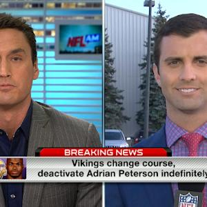 Darlington: Peterson can't be involved in any Vikings activities