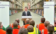 Benefits: Osborne Defends Welfare Shake-Up