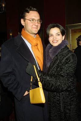 Karen Duffy with husband at the New York premiere of Touchstone's O Brother, Where Art Thou