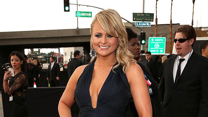 The 55th Annual GRAMMY Awards - Red Carpet: Miranda Lambert
