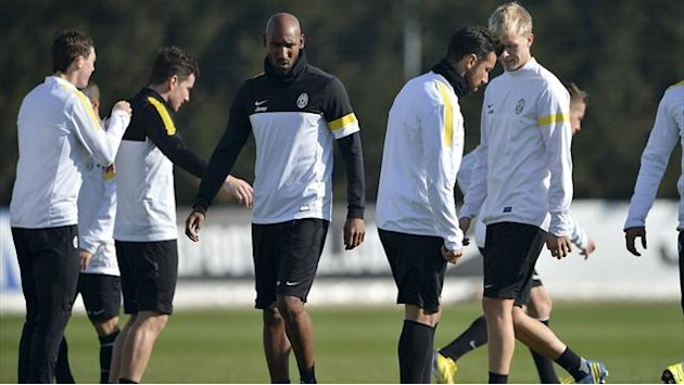 Serie A - Matri relishing chance to partner Anelka at Juve