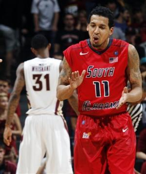 Allen scores 21 as South Alabama beats No. 25 FSU