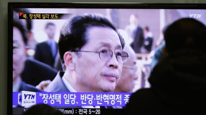 Jang was once seen as Kim's right-hand man.