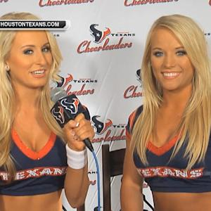 NFL Fan Pass: Houston Texans cheerleaders have fun