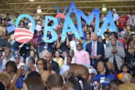 &lt;p&gt;Supporters greet US President Barack Obama as he arrives at a campaign event July 13, in Hampton, Virginia. Obama&#39;s tour through rural and urban Virginia follows visits to other key battlegrounds Ohio, Pennsylvania and Iowa.&lt;/p&gt;