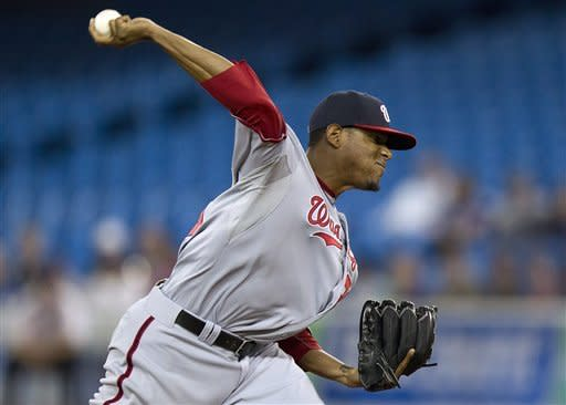 Jackson solid as Nationals beat Blue Jays 6-3