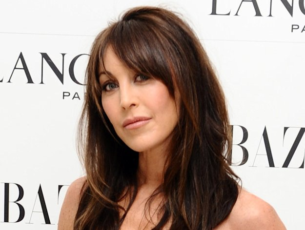 <p>Tamara Mellon during a pre-Bafta party organized by Harpers Bazaar and Lancome, at the St. Martin's Lane Hotel in London</p>