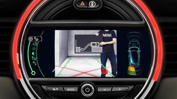 DNP 2014 Mini Cooper hardtop grows up with parking assistance and collision warning systems