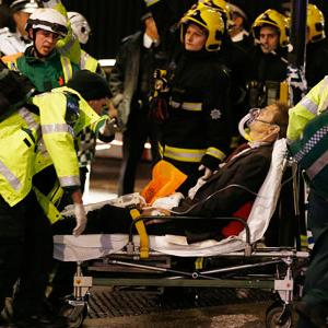 Over 75 Hurt in Partial London Theater Collapse