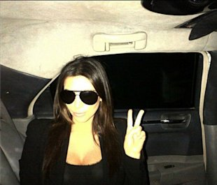 PHOTO: Kim Kardashian 'So Excited' As She Arrives In Kuwait Despite Protests