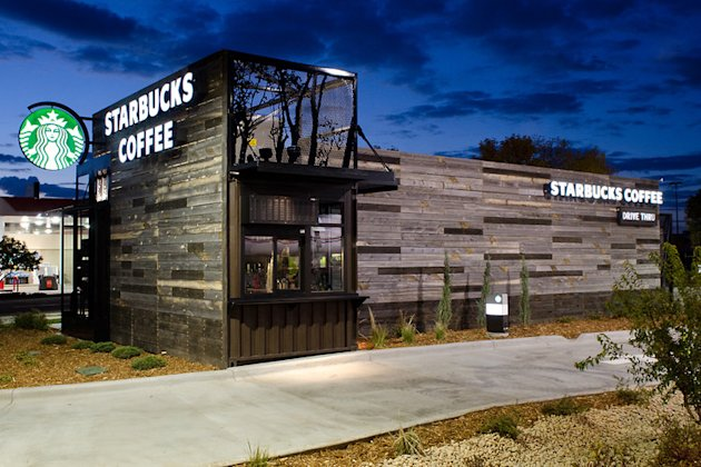 The first Starbucks of its kind in Denver.