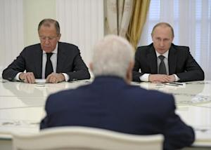 Russian President Putin, Foreign Minister Lavrov and…