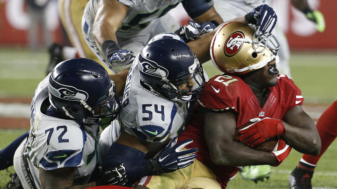 Seahawks lead 49ers 16-3 after third quarter
