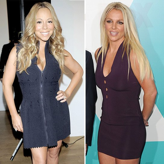 Mariah Carey Disses Britney Spears On 'X Factor' Gig