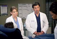 Ellen Pompeo and Patrick Dempsey  | Photo Credits: Randy Holmes/ABC