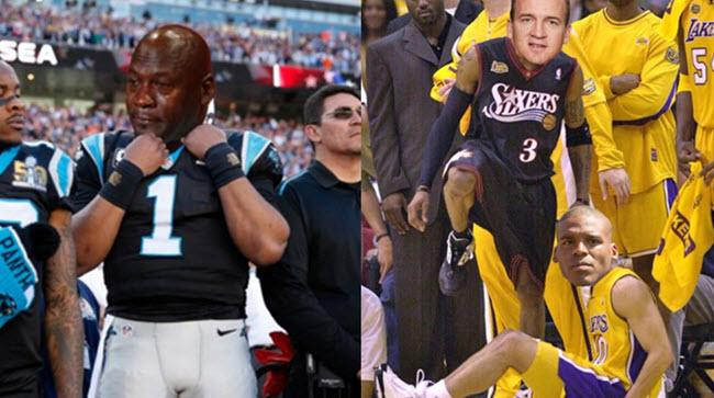 The Internet Ruthlessly Mocked Cam Newton After Super Bowl 50