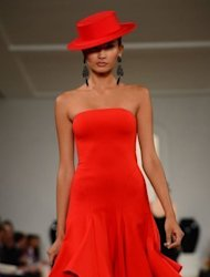 "A creation by designer Ralph Lauren during the Spring/Summer 2013 New York fashion week in New York. ""I am forever inspired by faraway exotic places,"" said Lauren, 72, on his Twitter account after the first of his two shows in Soho's Skylight Studios"