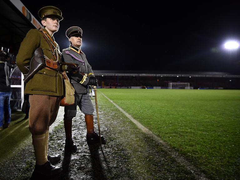 WWI letter describes 'extraordinary' Christmas truce