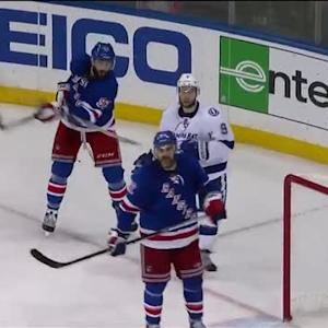 Yandle sends Johnson's stick flying high