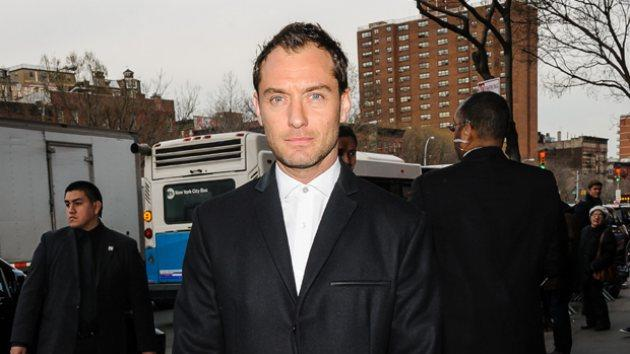 Jude Law in NYC, March 27, 2014 -- Getty Images