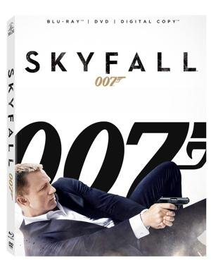 Skyfall on DVD/Blu-Ray