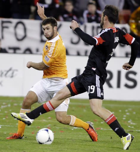 Bruin scores twice as Dynamo beat DC united 4-0